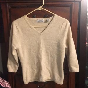 Lord & Taylor 100% Cashmere Sweater